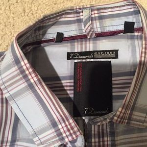 7 Diamonds Men's Shirt